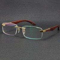 Commercio all'ingrosso vendita accessori per occhiali l'artista legno occhiali da sole in legno argento oro 18 carati in metallo oro regalo occhiali maschi e femmina taglia: 56-18-135mm