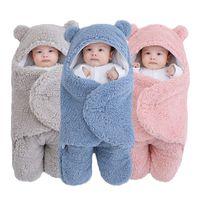 Мягкие новорожденные Baby Wrap Одеяла Детский спальный мешок Конверт для новорожденного Seepsa 100% хлопок Thien Cocoon для ребенка 0-9 месяцев