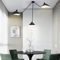 Ceiling Lights Lamparas De Techo LED For Bedroom Nordic Modern Study Hanging Lamp Simple Retro Duckbill Hanglamp 110V 220V