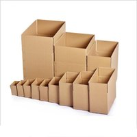 Packing Boxes 5pcs lot Carton Mail Paper Three-layer High-quality Corrugated Kraft Packaging