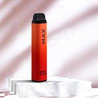 Original Breze Stiik max Disposable Vape E Cigarette Kit 950mAh Battery 1800 Puffs 6ml Cartridge Cube Pen 5% 8 Colors