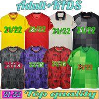 Camisa de fútbol Jersey LvP de fútbol A.Becker # 1 Maillot de Foot M.Salah # 11 Kits para niños para hombre # 9 Uniformes Milner # 7