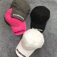 Clássico oblíquo homens designer bonés baseball Balens chapéu cabido casquette mulheres tampa top qualidade ciaga letras multi cor