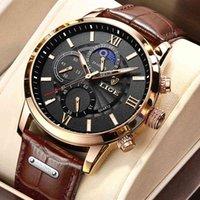 Designer relógio marca relógios de luxo relógio uxury homens de pulso de couro de pulso esportes impermeável relógio macho relogio masculino + caixa