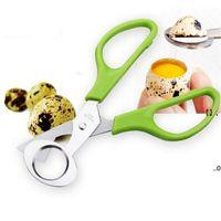New5 Color Нержавеющая сталь Яйцо Совещатель Инструмент Перепелины Яйца Ножницы Резака Бытовая Кухня Инструменты EWA6013