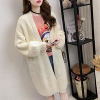 Women's Trench Coats Open Stitch Striped Long Women Solid Plus Size Warm Straight Loose Autumn Winter