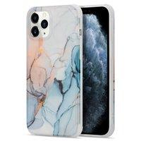 Casos de telefone de mármore dourado para iphone 12 11 pro promax x xs xsmax 7 8 mais samsung note10 note20 s20 s21 a51 a71 quatro cantos de anti queda