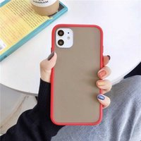 Smooth Phone Cases TPU PC Transparent Back Cover For Iphone 12 Mini 11 Pro Max X XS 7 8Plus