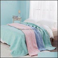 Steppdecken Sets Bettwäsche Liefert Textilien Home GardenForeign Handel Korean Sandwäsche wird von Laken gesteppt, Klimaanlage, Wurf Comfor