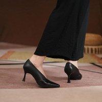 Dress Shoes 2022 Spring Summer Sexy High Heel Pumps V Cut Design Square Toe Crocodile Women Elegant Bridal Lady