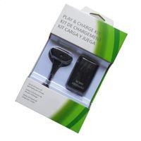 Para o Xbox 360 Wireless Punho 4800M Bateria 2in1 Kit de carregamento Adaptador de energia