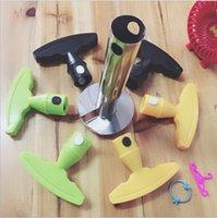 Paslanmaz Çelik Ananas Soyucu Kesici Dilimleme Norve Peel Çekirdek Araçları Meyve Sebze Bıçağı Gadget Mutfak Spiralizer ZWL187