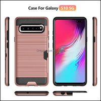 Cases Aessories Cell Phones & Aessoriesarmor Brushed Phone Case For Samsung Galaxy S7 S8 S9 Plus S10 S10E 5G Note 9 10 A20 A30 Shockproof Er