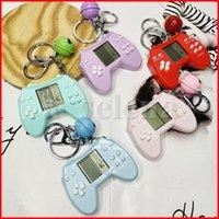 Parti Favor Mini Klasik Oyun Makinesi Çocuk El Retro Nostaljik Konsol Anahtarlık Bells Tetris Video Oyunları Hediye Ile