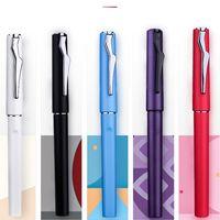 Picasso 618 Fountain Pen 5 Cores Popular Plástico Linda Resina Excelente Presente de Escrita para Business Office Tinta Canetas