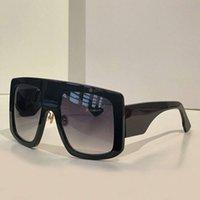 Moda boy güneş gözlüğü siyah koyu gri lens boy kalkan gözlük tonları unisex tasarım güneş gözlük kutusu ile