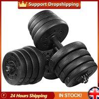 Réglable une paire de poids de haltères de 30kg Set Solid Fitness Safety Safe Slip Slip Haltères Formation d'exercice de gymnase Indoor