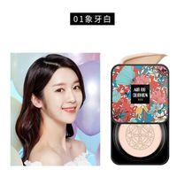 BB Air Cushion Foundation Mushroom Head CC Cream Concealer Whitening Makeup Kosmetisk Vattentät Brighten Face Base Tone