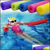 Pool Sport OutdoorsPool Asoresores Schwimmen Schwimmanhänger Foam Sticks Schwimmen Nudelwasser Wasser Float Aid Nudels Floatings Drop Lieferung 2021 Jjewu