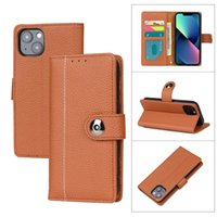 Flip Cases For iphone 13 11 12 Pro XS Max XR 8 7 Plus Card Pocket Wallet Phone Protective Cover Anti-fall Shockproof
