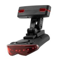 Bike Lights Intelligent Wireless Remote Control LED Taillight Anti-theft Warning Alarm Lamp For Outdoor Riding