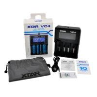 XTAR VC4 CHAGER NIMH 배터리 충전기 LCD 10440 18650 18350 26650 32650 리튬 이온 배터리 충전기