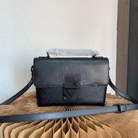 2021 Модный дизайнер Мужские Сумки Crossbody Посол Classic Bag Сумка Высококачественные Черные Ретро Женщины Сумки для ручки Кошельки