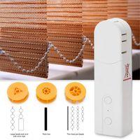 Smart Home Control AM43 Electric Curtain Motor Phone App Roller Blinds Roman Light Sense Automatic Pulling