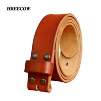 Top Designers Belts for Mens High Quality Pin Buckle Male Strap Genuine Leather Waistband Ceinture Homme,No Buckle 210918