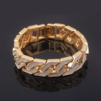 Charm Bracelets High Quality Punk Style Gold Bracelet Made Of Zinc Alloy Men's And Women's Holidays Give Gifts Jewelry