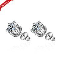 Boucles d'oreilles Simple Tendance Boucles d'oreilles Femmes Set complet avec Diamond Hommes ED347
