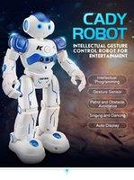 JJRC R2 원격 제어 장난감 로봇 다기능 전기 춤 지능형 프로그래밍 제스처 유도 장난감 소년과 소녀