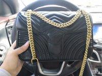 2020 New Womens Diseñador de lujo Bolso Bolsos Crossbody Bolsos de Totes Bolso de cuero Mujer Bolsa de mujer Hombro CC Lady Bols Bags Channe