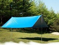 Impermeabile Tenda Tenda Tenda Ultralight Garden Canopy Solantinata Campeggio Outdoor Camping Hammock Rain Beach Sole Shelter Tende e rifugi
