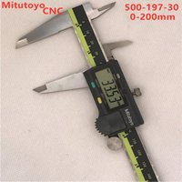 Power Tool Sets 1Pcs Mitutoyo CNC Digital Caliper LCD Vernier Calipers 8inch 200mm 500-197-30 Electronic Measuring Tools Stainless Steel