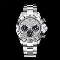 Top hombres relojes 40mm acero inoxidable luminoso calendario impermeable moda deportes de alta calidad reloj mecánico automático