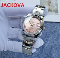 Hohe Qualität Mode Römische Gesicht Damenuhr Mechanische Automatische 31mm Saphhire Damen Kleid 316L Edelstahl Armband Wasserdichte Armbanduhr