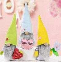 Festa della mamma Gnomes senza volto coniglietto Dwarf bambola coniglio peluche giocattoli forniture per feste amore mamma regalo bambini regalo felice pasqua decorazione della casa ZZE5345