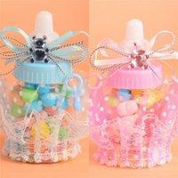 Baby Shower Regalo Bottle Box Box Battesimo battesimo Brithday Party Favors Bombardi Bombardi Bombarda Box Box Boy Girl T9i001165