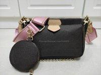 Women Shoulder Bags Handbags 3pcs set Fashion Multi Pochette Accessories High Quality Chain Lady Crossbody Messenger Bag Coin Pu