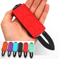 automatic KNIFE CNC T60161 handle D2 steel blade hight quality UTX70 UTX85 BM3300 A07 UT121 a20 Camping tactical pocket folding Quick opening cutting tool