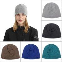 Knit Crochet Beanie Hat For Man Woman Winter Warm Caps Outdoor Cotton Headwear