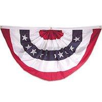 45 * 90cm Amerikanische Flagge Vorhang Donald John Trump Biden Streifen Gedruckt Garten Wand Fenster Türdekor Fan-feuchtes Flaggen Rock Dekorationen HH42801