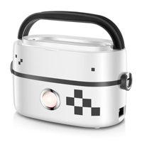 Chauffage électrique Boîte à lunch Voyage Chauffage chaud Chauffage Conteneur Vapeur à vapeur Riz Cuisinières Réchauffeur Mini cuisinière