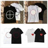 2021 футболка одежда алфавит напечатанный чистый хлопок футболка хип-хоп с коротким рукавом M-2XL выбор летних досуг уличные женщины мужчины