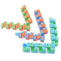 DHL Wacky Tracks Snap и нажмите Fidget игрушки Детский аутизм змея головоломки классические сенсорные игрушки