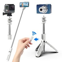 Selfie Monopods Bluetooth-compatible Mobile Phone Remote Control Stick Tripod Wireless For IOS Android CellPhone Handheld Gimbal