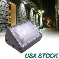 Dusk-to-dawn photocell, 125W 방수 야외 상업 조명기구, 80-180w T, 5000K 7200LM AC100-277V와 LED 벽 램프