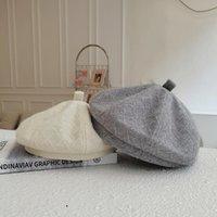 Berets 2021 Hats For Womens Fall Bonnets Women Designer Autumn Winter Hat Male Vintage Painter Cap