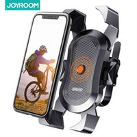 Joyroom Motorcycle Mount, Secure Lock & Bicycle Cell Phone Holder for Mountain Bike Handlebar, Compatibl